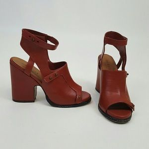 Nasty Gal Cognac heels